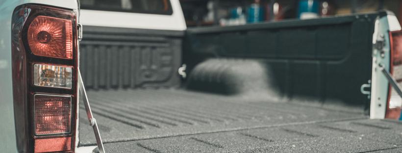 Open truck bed