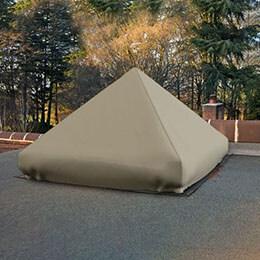 Custom Skylight Covers - Pyramid