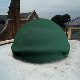 Custom Skylight Covers - Round Dome